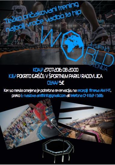 PROMOCIJSKI TRENING WORLD JUMPING-A