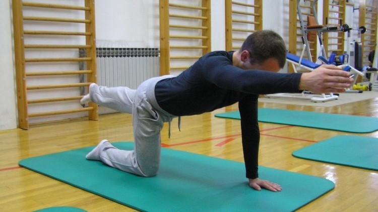 Pilates zdrava hrbtenica