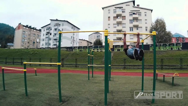 Beast Bars Street Workout